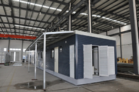 Combination Prefabricated Light Steel Prefab House / Durable Modular House