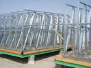 SAA Light Steel Frame Houses  steel frame prefab home Steel Structural Fabrication Workshop