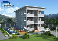 SOHO Light Steel Frame Structure Prefab Apartment Buildings for rent for sale