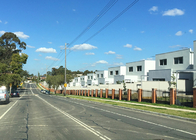 housing and land package project in Sydney by light gauge steel structure prefab homes eco-friendly prefab house