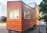 Light Steel Frame Prefab Tiny House on wheels AISI S100 AS/NZS 4600,Australia standard