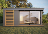 Australian/NZ standard prefab light steel garden/yard studio granny flat house holiday chalet with wooden cladding