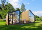 China Fire Proof Garden Office Studio / Prefab Garden Office Custom Design ISO9001 company