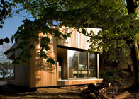 Small Light Steel Prefab Garden Studio House Australia Standard With Laminated Floor