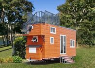 Fire Resistance Modular Tiny House Mini Modular Homes Max 60m/S