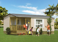 Europe Style Prefab Light Steel Frame Mobile Homes In EU Standard