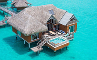 Light Gauge Steel Framing System Resort Overwater Bungalow for rent