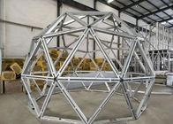 Light Steel Frame Movable Eps Prefab Geodesic Dome House Dome Kits