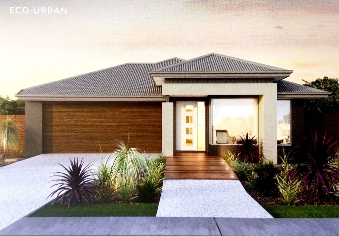 Contracted style bungalow house design contemporary prefab for Modern house design bungalow type