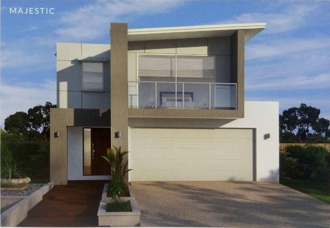 Two layers prefab villa light gauge steel structure pre for Prefab steel houses