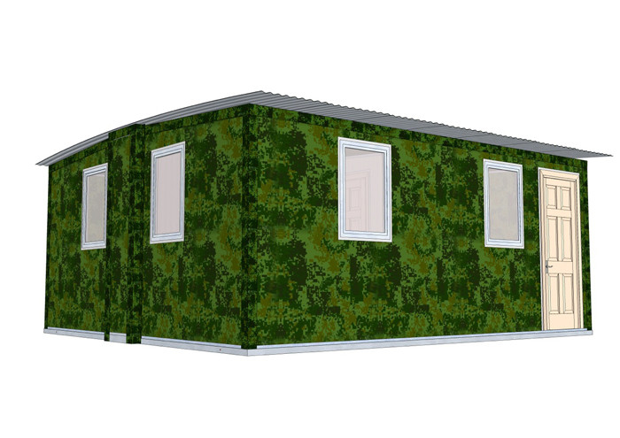Quick Assemble Earthquake-Proof Modular Homes Bungalow / Emergency Portable Shelter emergency housing shelter