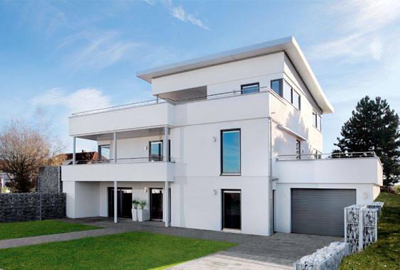 Contemporary modular homes light gauge steel prefab for Steel prefab house