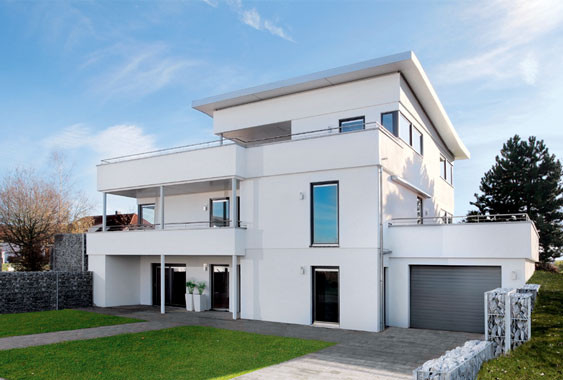 maisons modulaires contemporaines villa pr fabriqu e en acier mesure de lumi re vendre villa. Black Bedroom Furniture Sets. Home Design Ideas