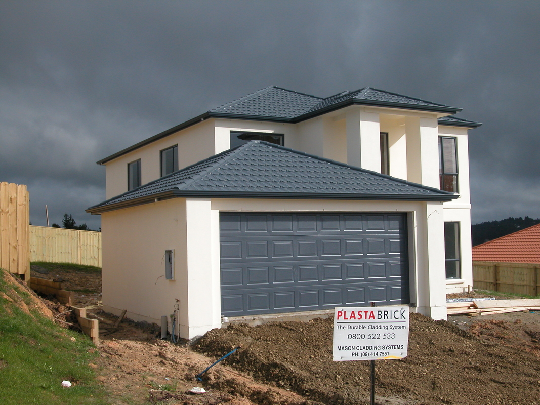 New Zealand Style Prefabricated Steel House , Quick Installation Prefabricated Villa