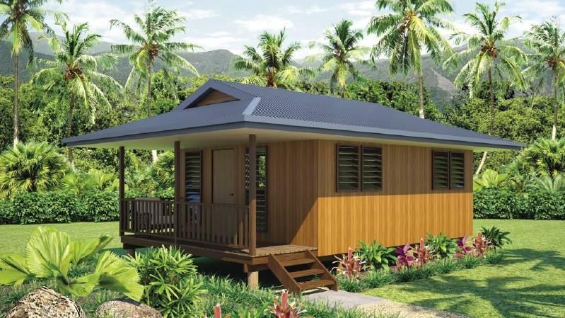 light steel frame wooden design bungalow On wooden bungalow design
