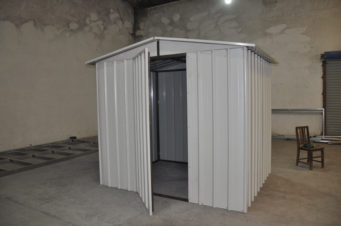 White Moisture Proof Construction Steel Metal  Shelters In Australia Standard