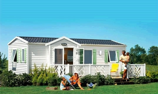 Prefab Mobile Homes With Laminate Floor / Colorbond Roofing / PVC Wall Cladding