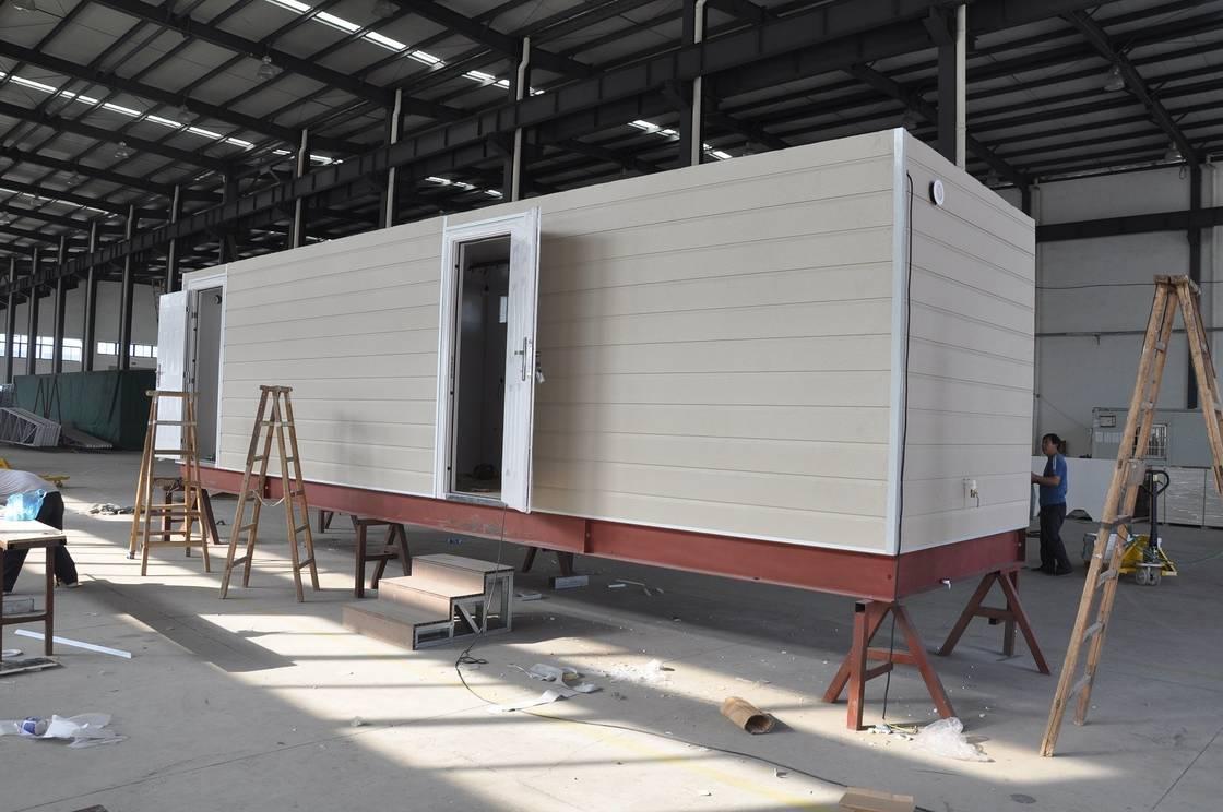 Prefab Mobile Cabin House Steel Frame Prefab Modular