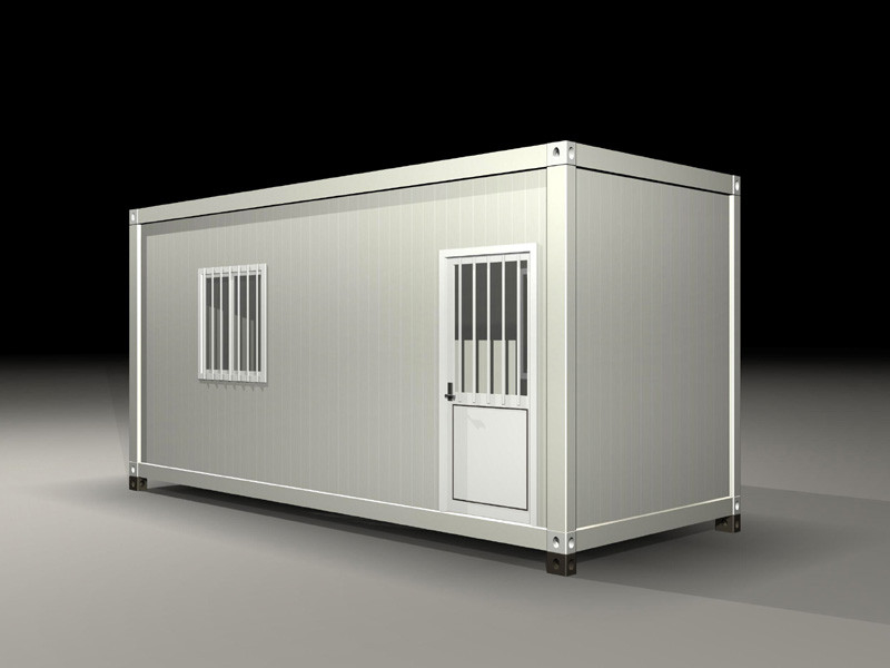 Earthquake Resist Movable Shipping Prefab Container Homes With Solar Panel System