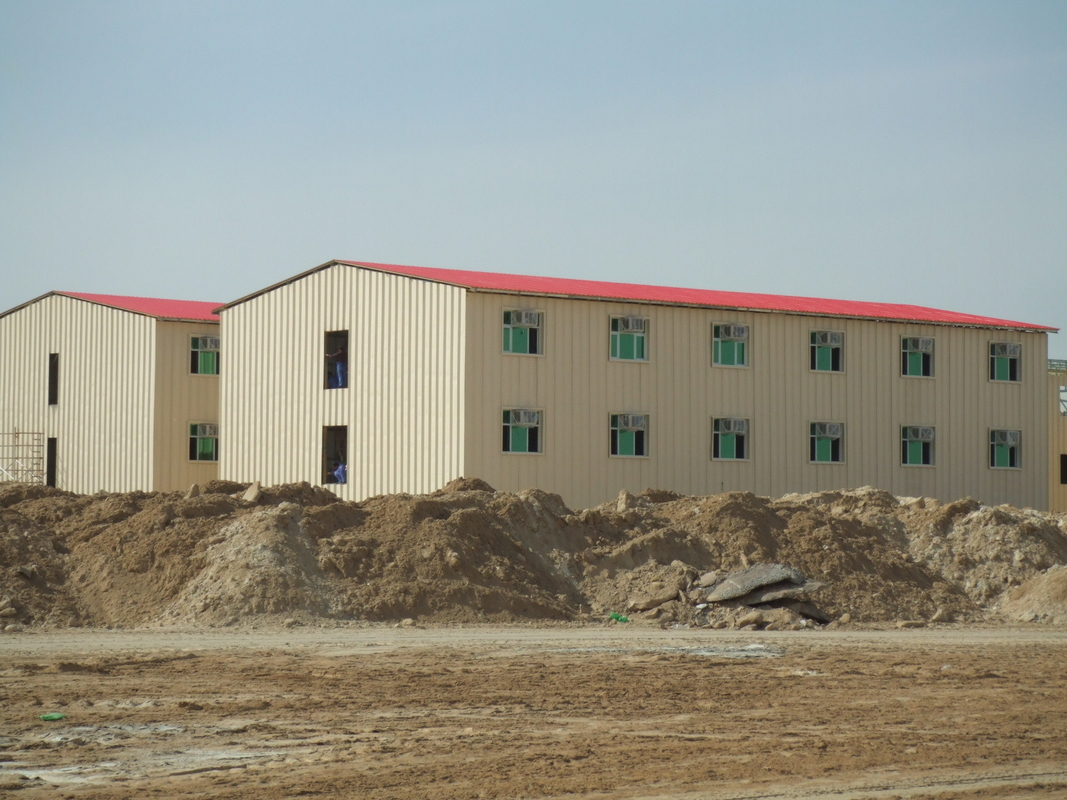 Low-Cost Prefab Commercial Buildings / Energy Saving Prefab Metal Building