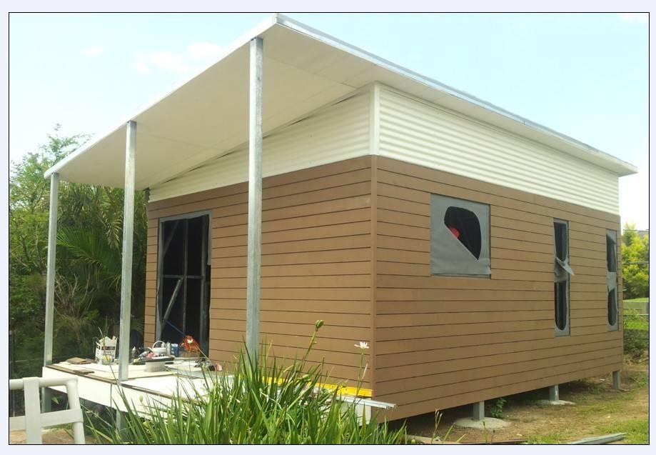 Light Steel Frame Structures Cape Town South Africa: Australia Style Prefab House Kits , Modern Prefab House