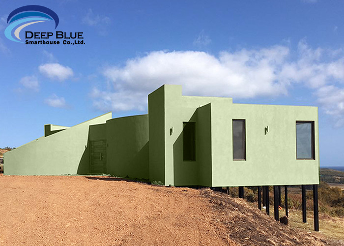 Customized Design Modern Style Building light Steel Structure Prefab luxury or low cost Villas With Kitchen
