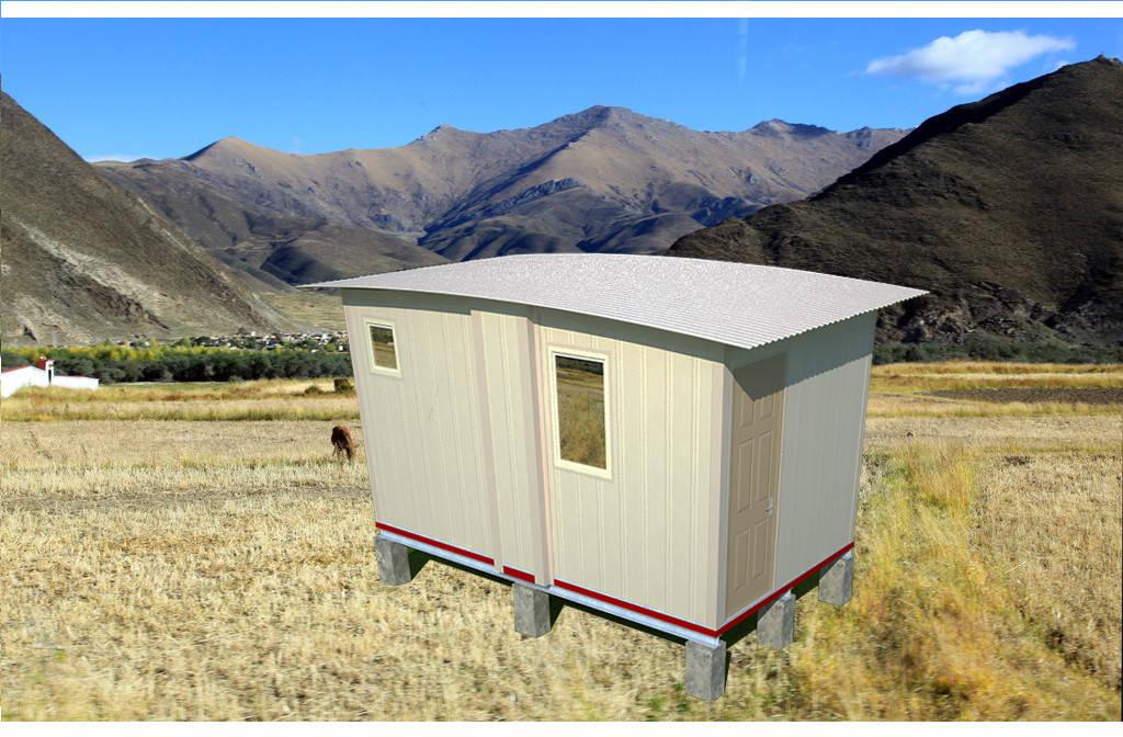 Mobile Home Shelter : Portable emergency shelter modular quick assemble foldable