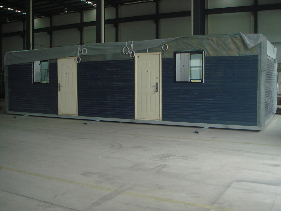 Moistureproof Prefab Modular Homes Prefabricated Light Steel House Fireproof