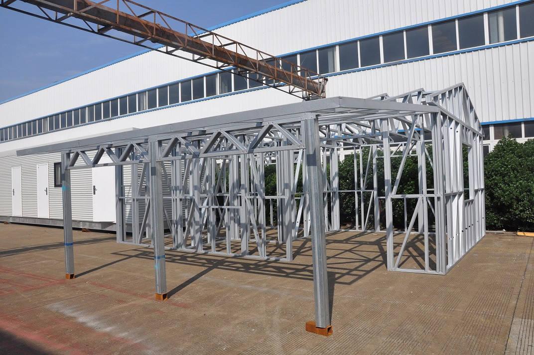 Metal Car Sheds Light Steel Frame Sheds Moistureproof