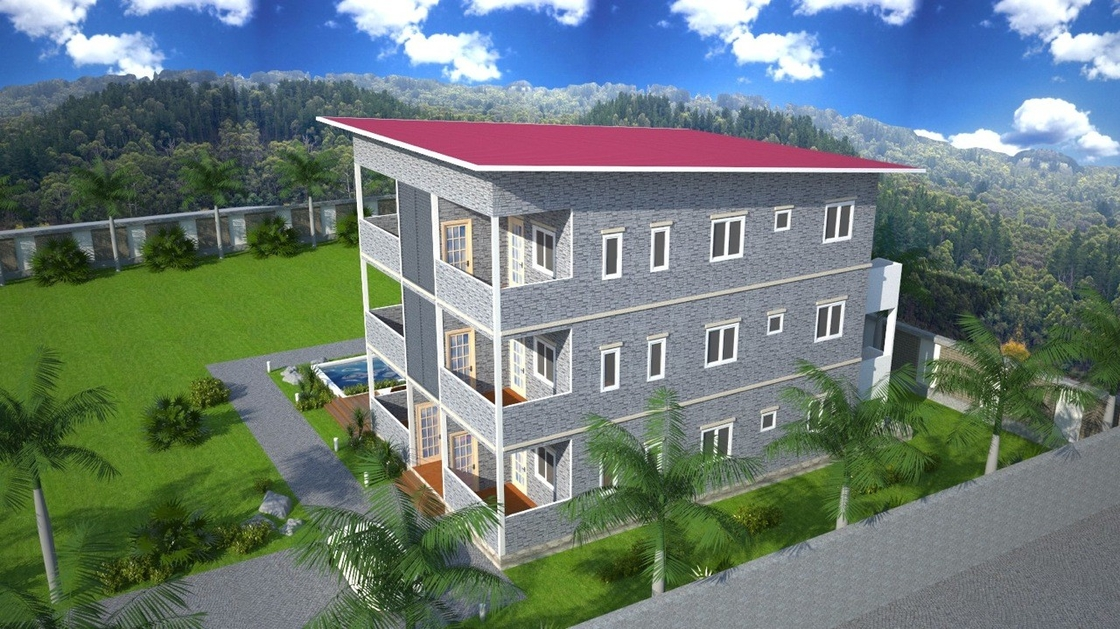 Prefabricated Apartment Buildings / Living Or Office Supply Buildings
