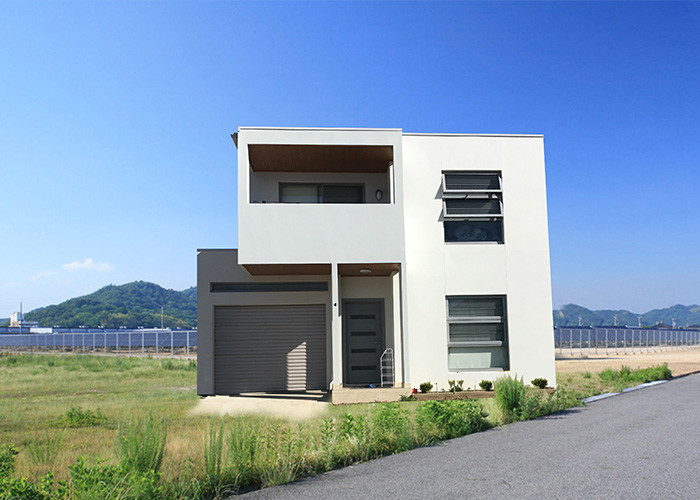 Cold Formed Steel Prefabricated Homes Luxury Prefab Houses Energy Saving Quick Assembly