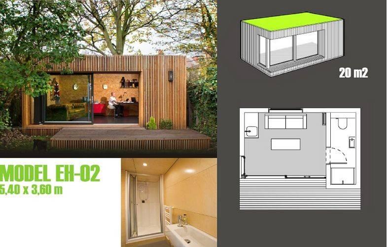 Soundproof Prefabricated Garden Studio Prefab Garden