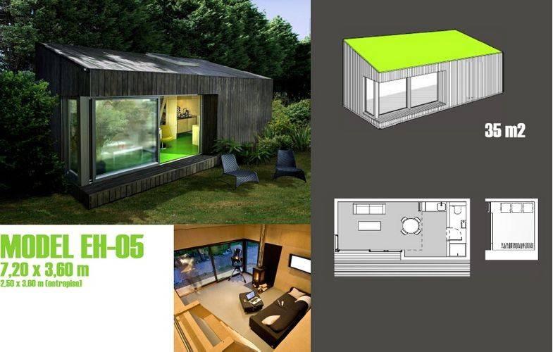 Prefab garden studio for office prefabricated garden for Prefab garden office