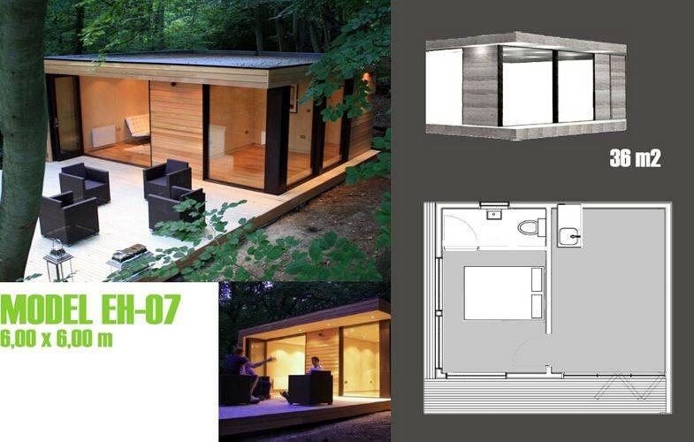 Le bien mobilier moderne accentue la maison de vacances a pr fabriqu le stud - Mobilier pour studio ...