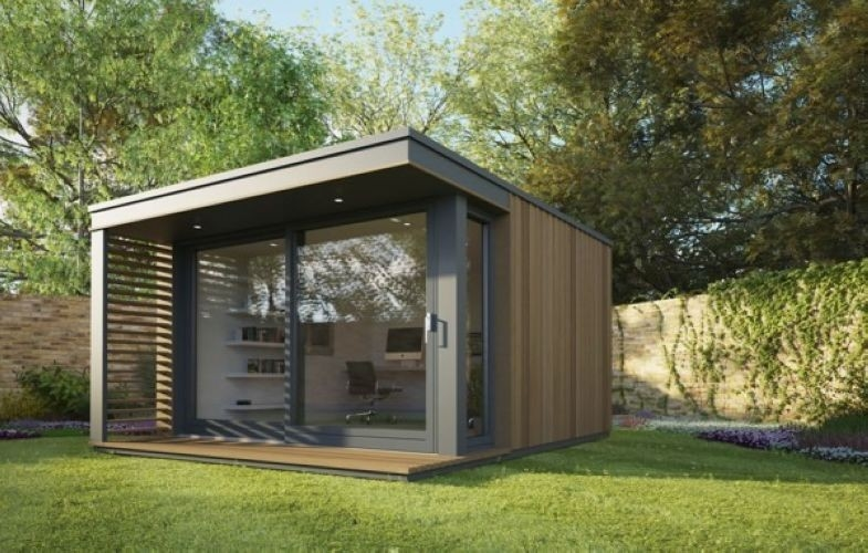 Quick Assemble Modular Holiday Wooden Home Prefabricated Longlife Garden Studio