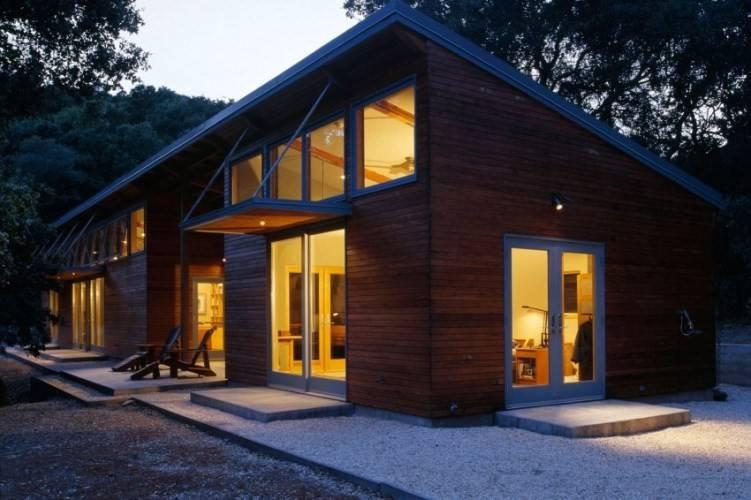 il vento prefabbricato resiste alle case di legno d