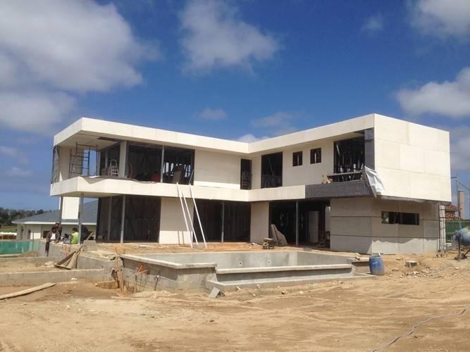 2 la storia il tetto piano uruguay ha prefabbricato la casa d 39 acciaio leggera case di legno d - Prefabbricato casa ...