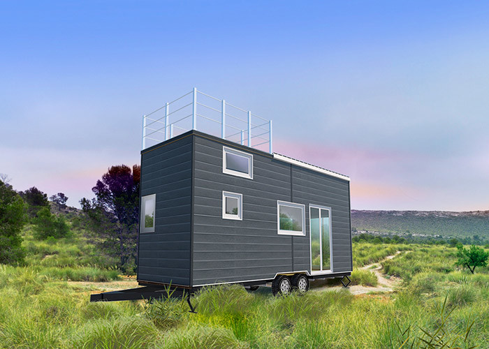 Light Steel Modular Tiny Prefab Homes With Integrated Wall Panel for sale for ren
