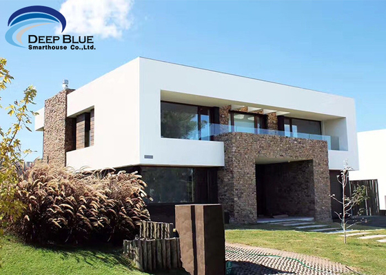 Luxury Prefab Steel Houses Prefabricated home based on  AS / NZS , CE Standard luxury Prefab home