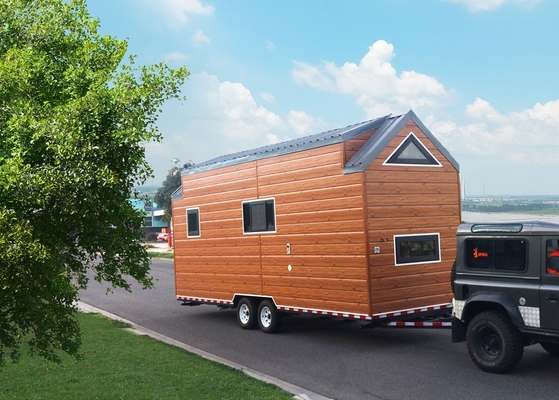 Plywood Wall CE ISO Certification prefab eco homes Prefabricated Tiny House On Wheels Space Saving Modular Tiny House