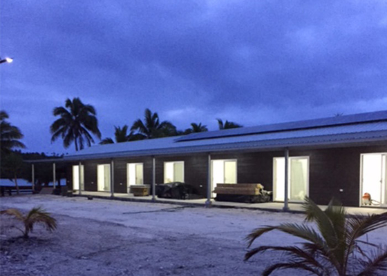 New Deisgn 10 Rooms Prefab Light Steel Frame Bungalow Homes In AU/EU/US Standard