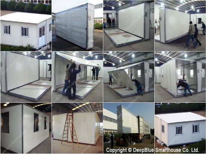 Portable Deployable Emergency Shelter : Prefabricated foldable portable emergency shelter
