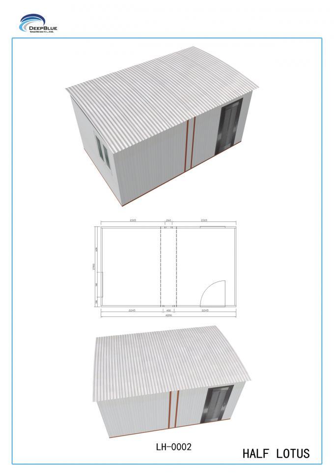 Portable Deployable Emergency Shelter : Deployable portable emergency shelter foldable house