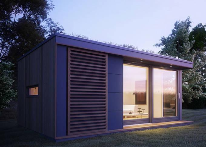 Chalet Nursery And Garden Center: Yard Prefab Garden Studio Flat House Holiday Chalet With